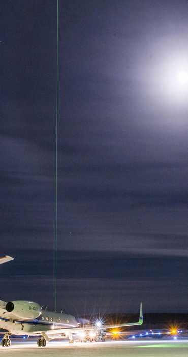 Messkampagne POLSTRACC - Starker Ozonabbau über der Arktis möglich