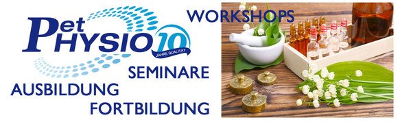 Seminare bei Pet Physio