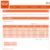 De nouvelles fonctionnalités sur l'Espace Client Netcom Group !