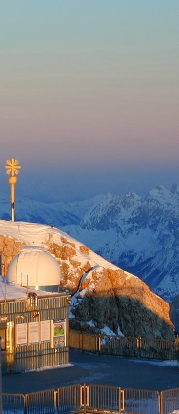 Langzeitmessungen des Observatoriums des KIT auf der Zugspitze fließen auch in das Messstationen-Netzwerk ARCTRIS ein. (Bild: KIT/H. Vogelmann)